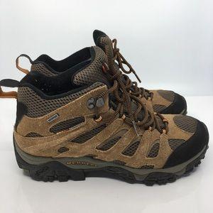 Merrell Earth mens waterproof hiking boots Vibram